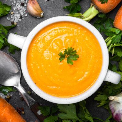 Leftover Winter Veg Soup