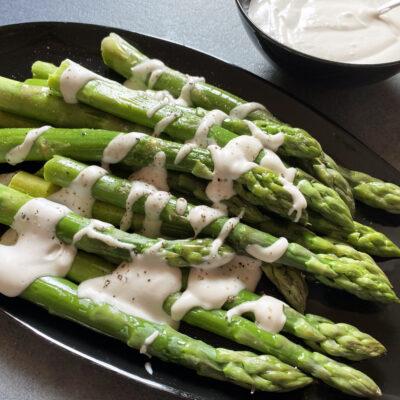 British Asparagus & Cashew Cream