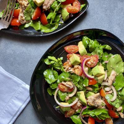 Watercress & Sardine Salad